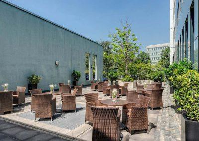 Park Inn by Radisson Köln City West Terrasse / Patio